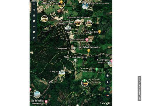 terreno km 275 carretera a santa elena barillas