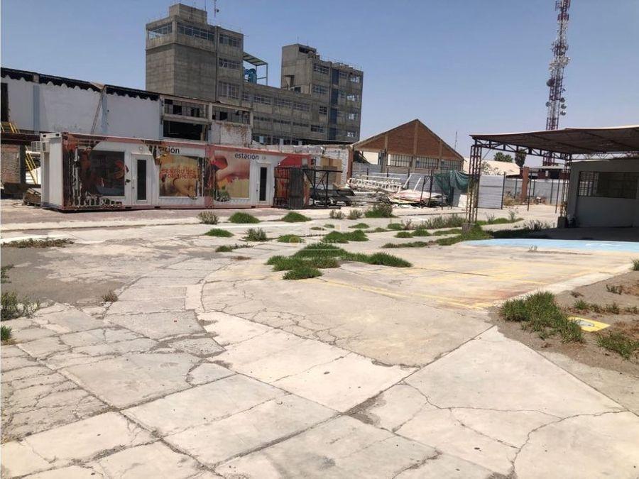 terreno industrial comercial en arequipa