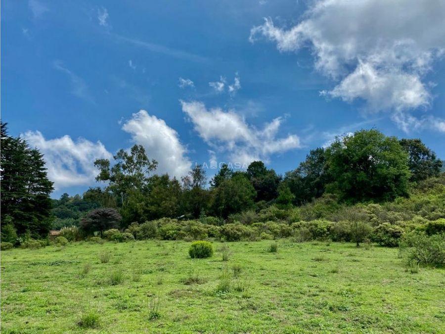 terreno para desarrollo o rancho valle de bravo