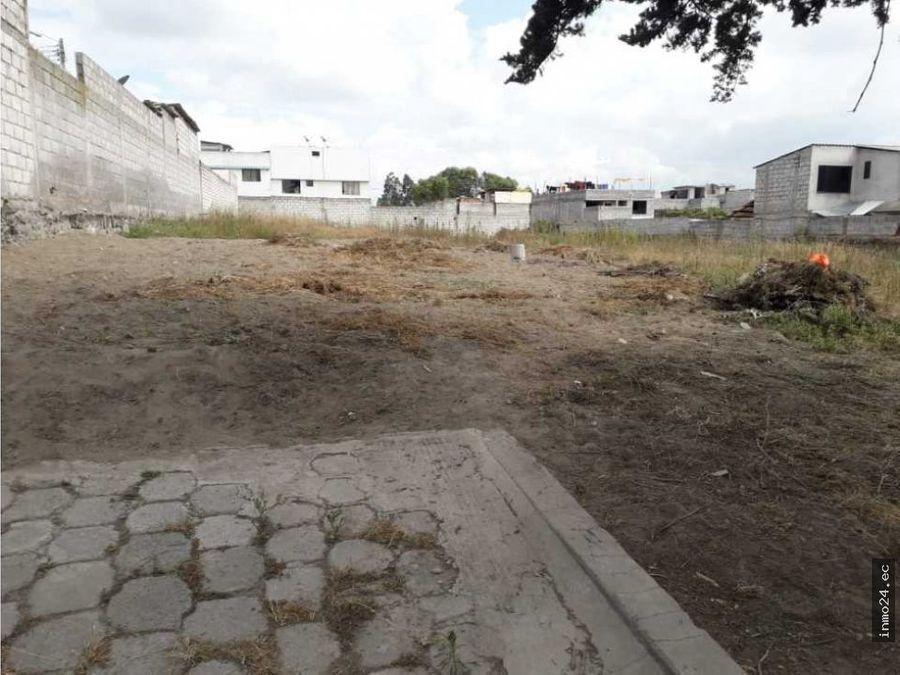 terreno plano en venta sector norte calderon san jose de moran