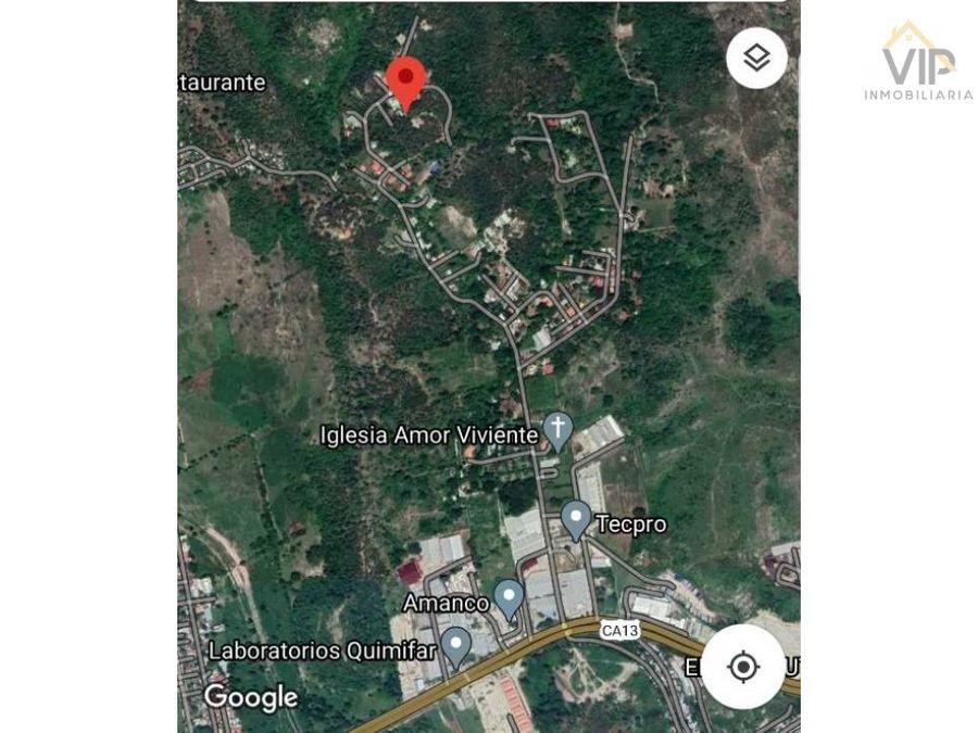 terreno residencial en venta res roca de arios choloma honduras ca