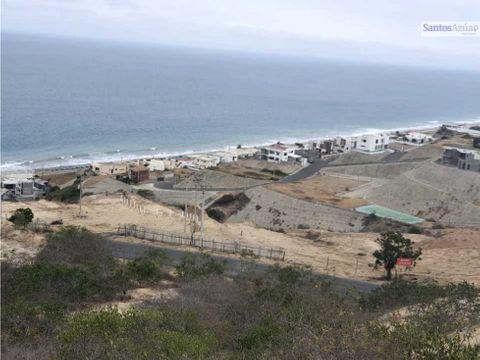 terreno vista al mar santa marianita manta manabi