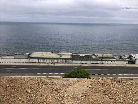 terreno vista al mar 2020m2 en venta