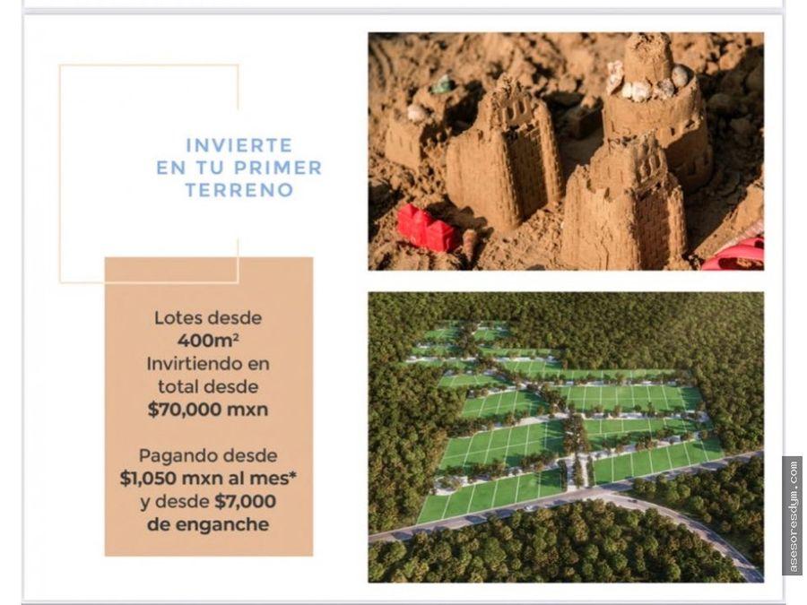 terrenos de inversion cerca playa san bruno
