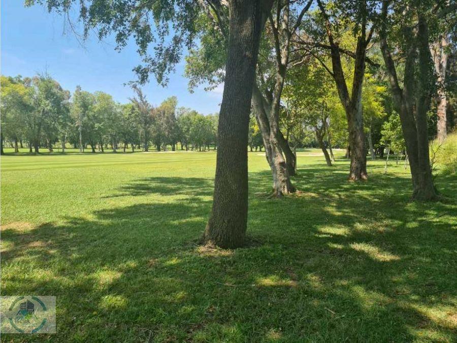 terrenos en campo de golf