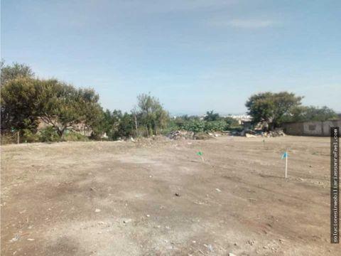 terrenos en tlaquepaque 2200 m2 cerca lazaro cardenas y rio seco