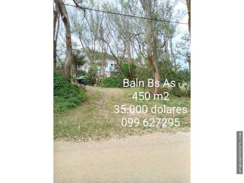 terrenos en venta de 450 m2 balneario buenos aires