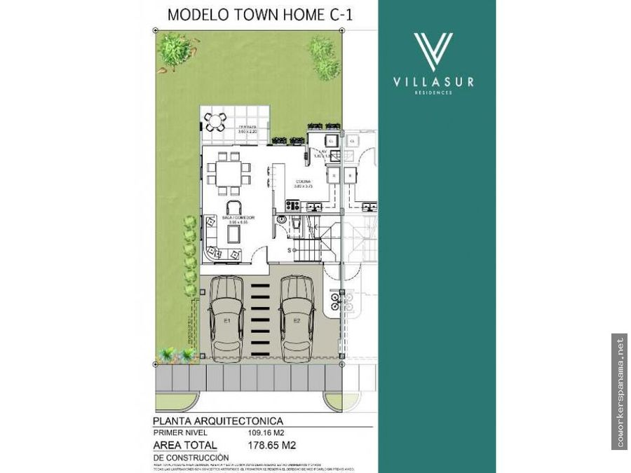 town home preventa villa sur