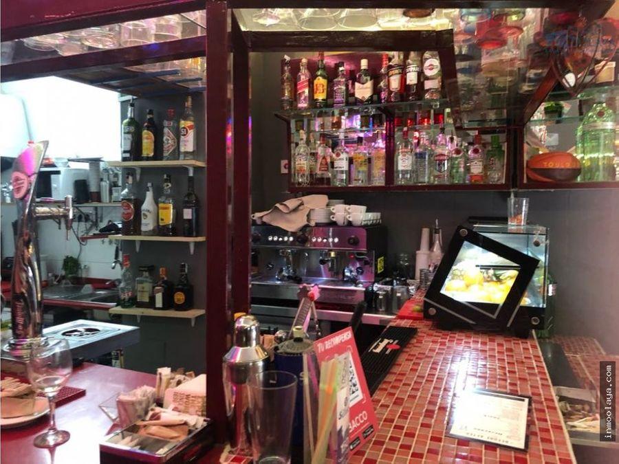 traspaso bar c1 en ciutat vella