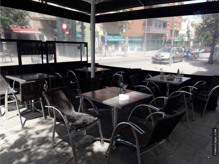 traspaso bar c2 mixta con terraza en congres