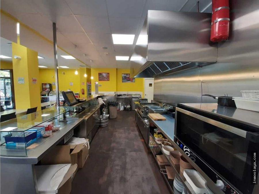 traspaso bar cafeteria c3 y terraza en sant boi
