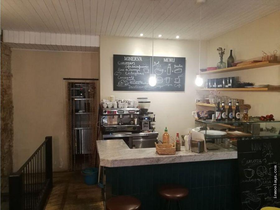 traspaso bar cafeteria c1 con salida de humos en gracia