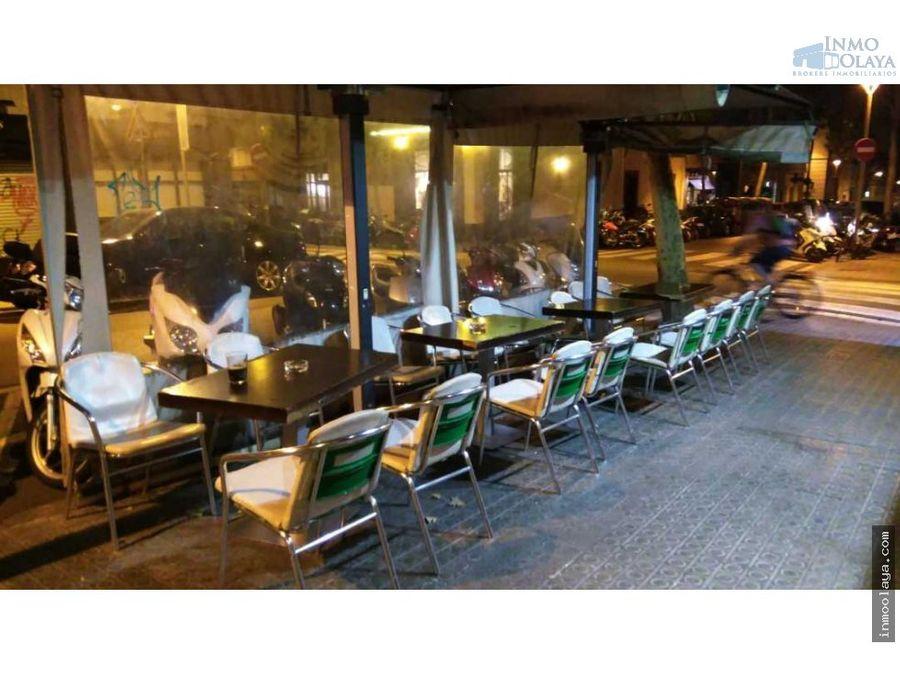 traspaso bar cafeteria c2 sant gervasi