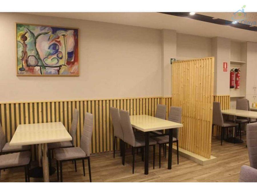 traspaso cafeteria con 5 mesas de terraza sant pau