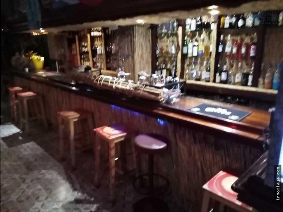 traspaso bar musical c1 en avenida paralelo