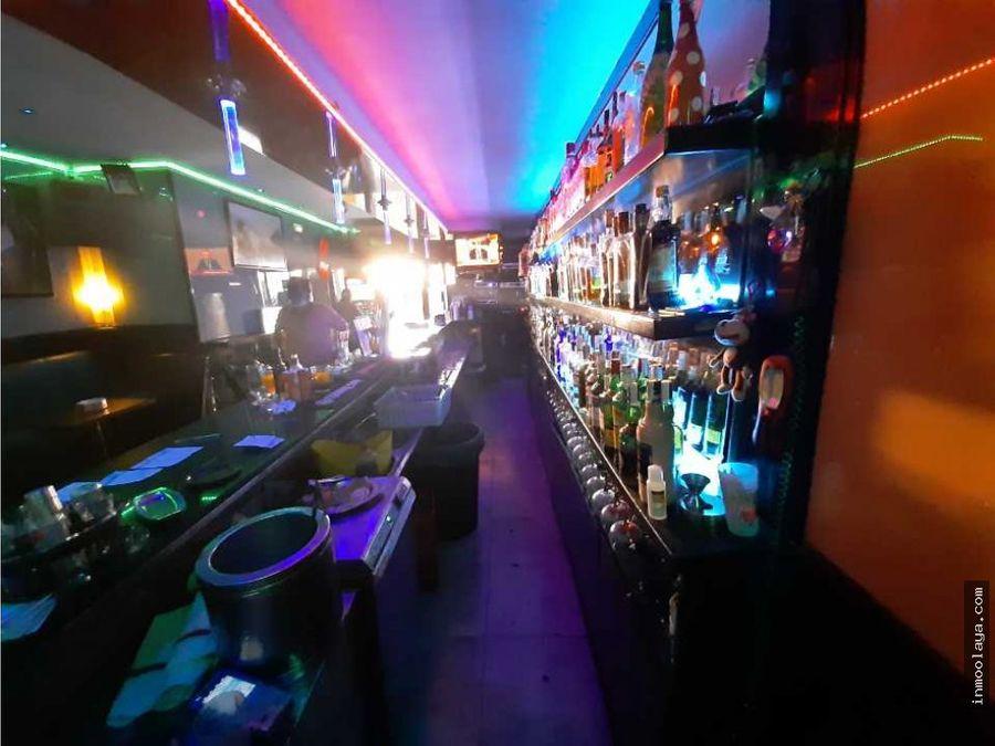 traspaso bar musical con terraza en sants