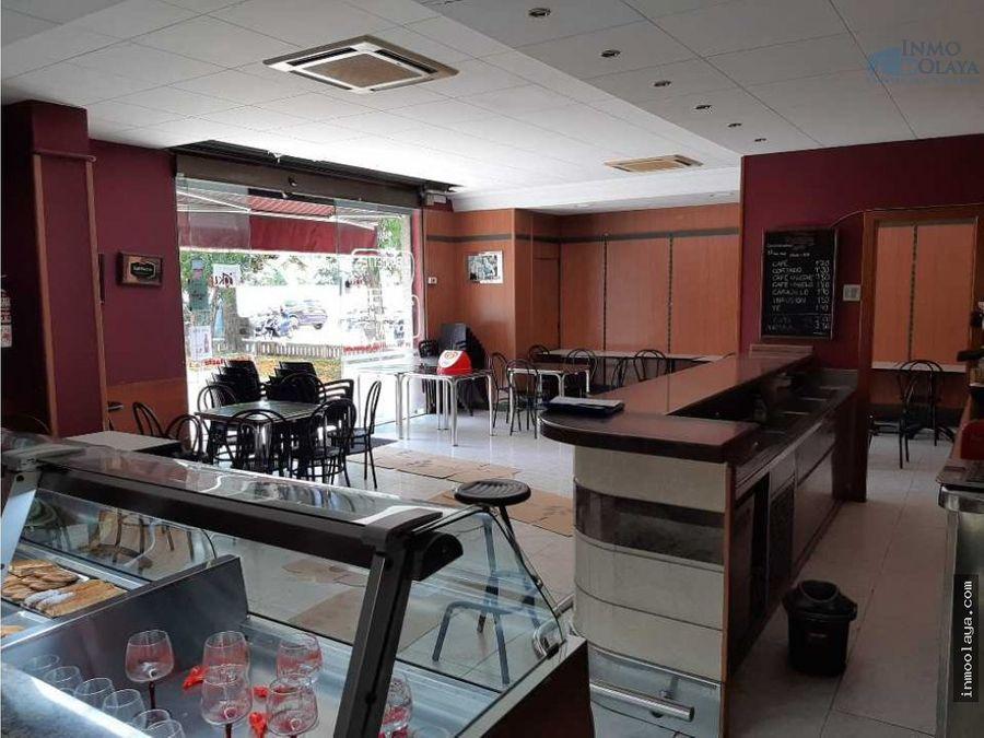 traspaso bar panaderia con terraza en hospitalet