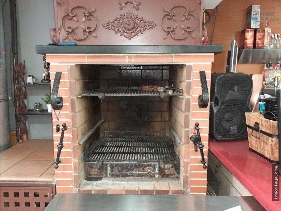 traspaso bar rest braseria con 2 salidas de humo y terraza en sants