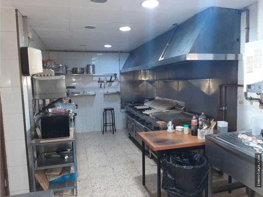 traspaso bar restaurant con vivienda en poligono industrial hospitalet