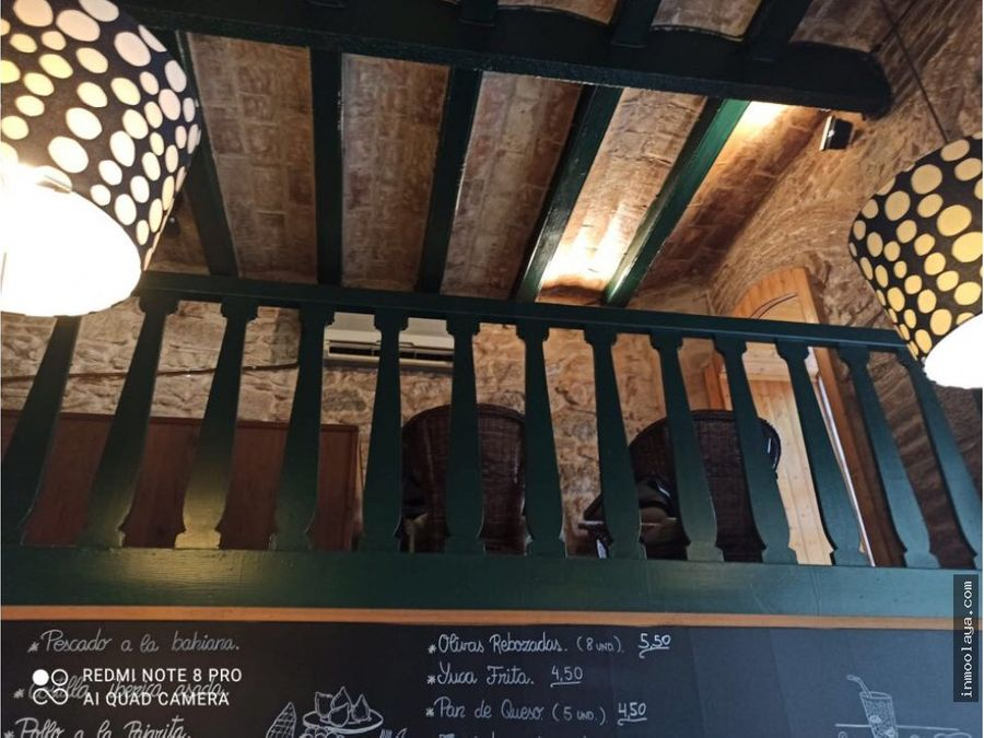 traspaso de bar restaurante c3 en arco del triunfo