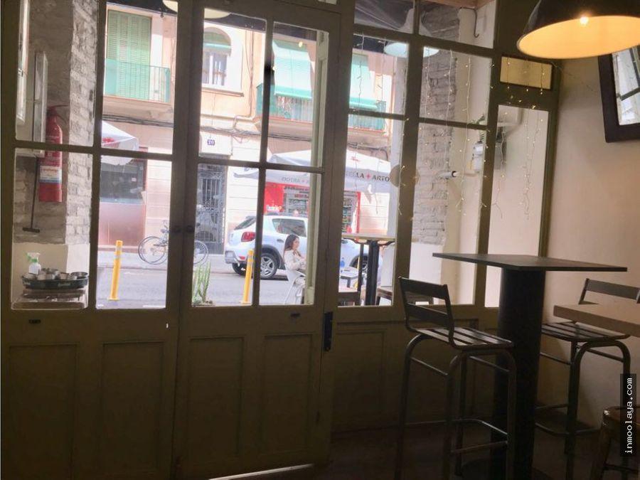 traspaso de restaurante c3 en el poblesec