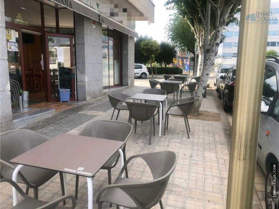 traspaso bar restaurante c3 terraza y salida humos en sant joan despi