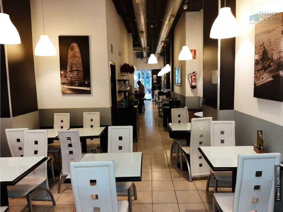 traspaso bar restaurante c3 con terraza eixample derecho
