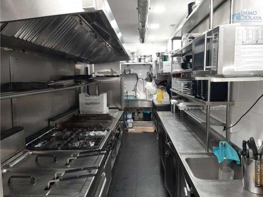 traspaso bar restaurante c3 con terraza y salida de humos en sabadell