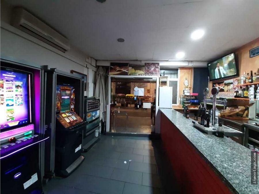 traspaso bar restaurante c3 con salida de humos y terraza en esplugues