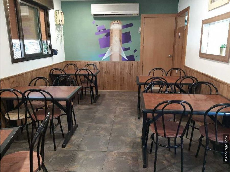 traspaso bar restaurante c2 mixta con terraza en cornella
