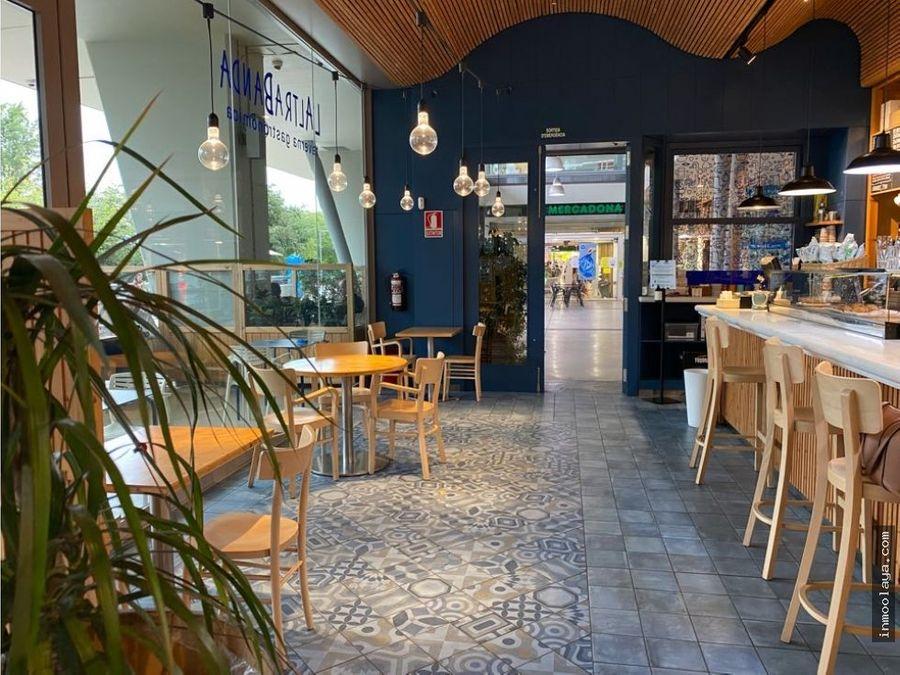 traspaso bar restaurante c3 con gran terraza en san cugat del valles