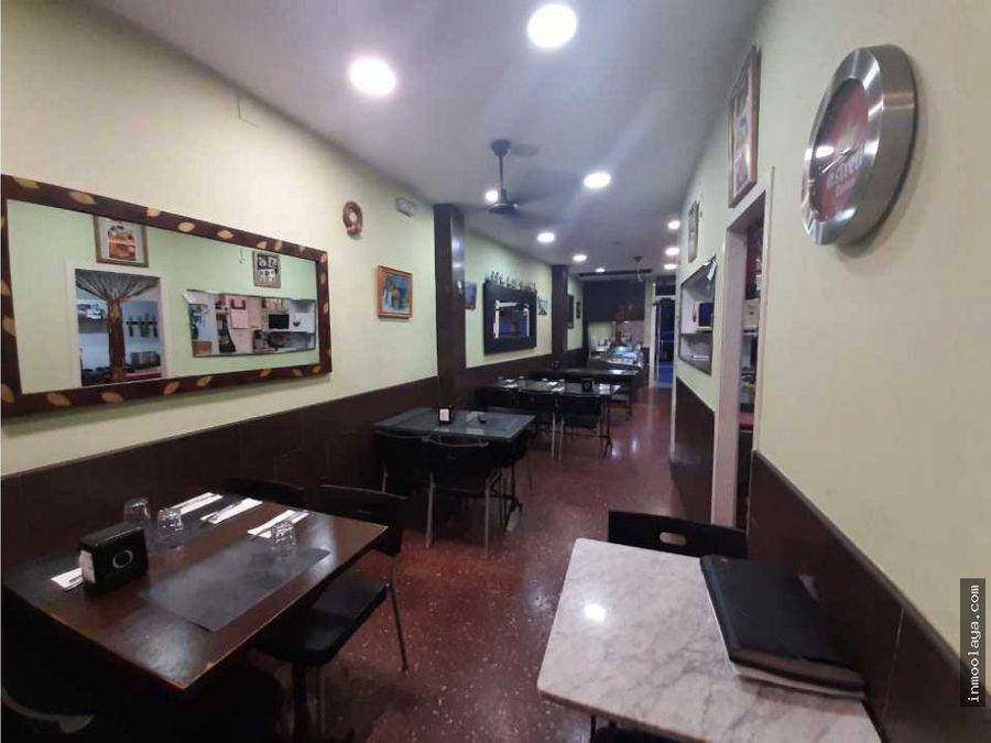 traspaso bar restaurante c3 en zona franca