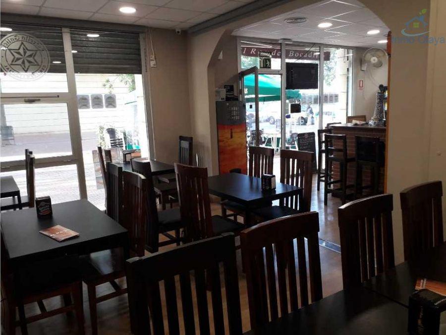 traspaso bar restaurante c3 en sant andreu