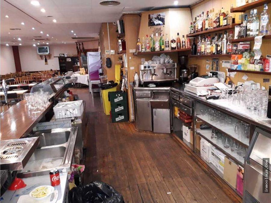 traspaso bar restaurante c3 en poligono cornella