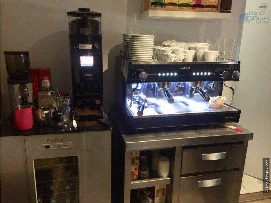 traspaso bar cafeteria enrique granados