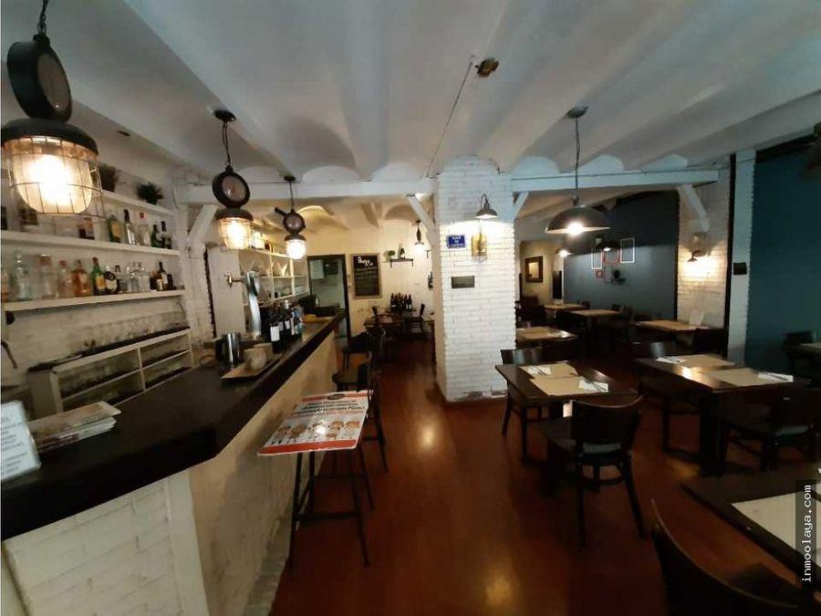 traspaso bar restaurante c3 en sarria