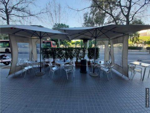 traspaso bar restaurante c3 salida de humos y terraza en ensanche izq