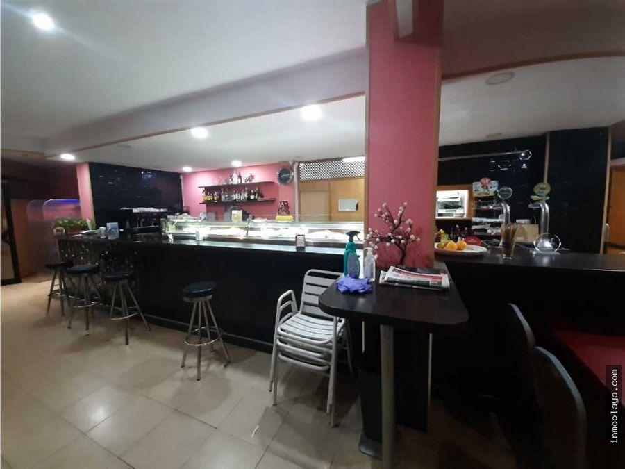 traspaso bar restaurante c3 y terraza en hospitalet