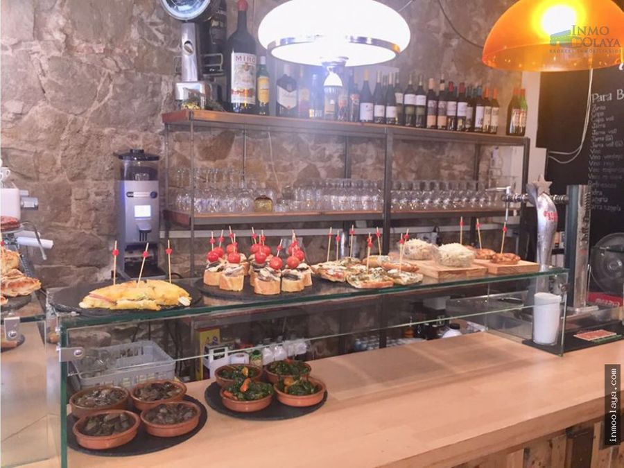 traspaso bar restaurante c2 poble sec