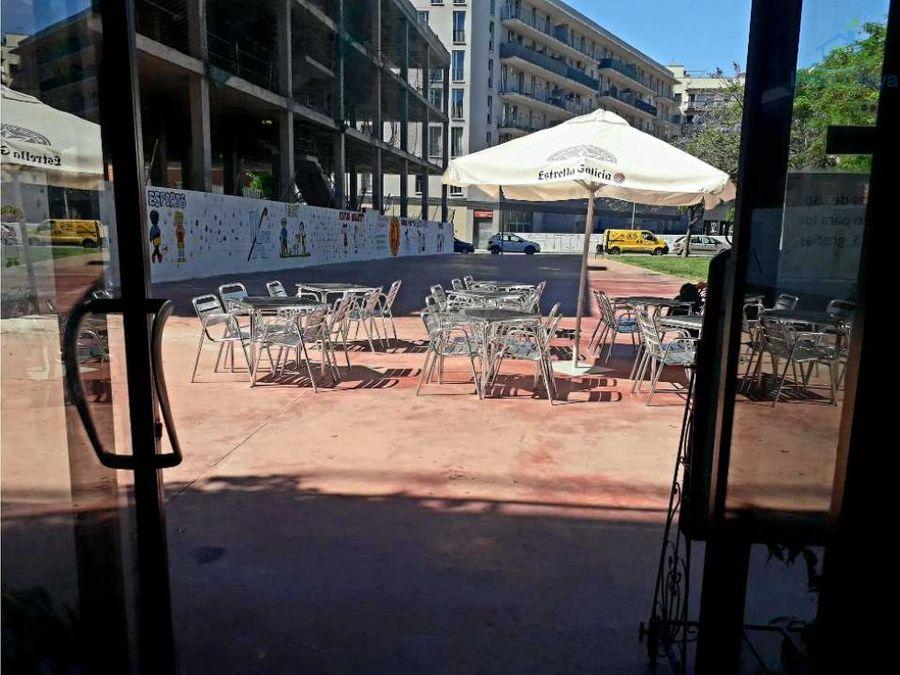 traspaso bar restaurante c3 y gran terraza
