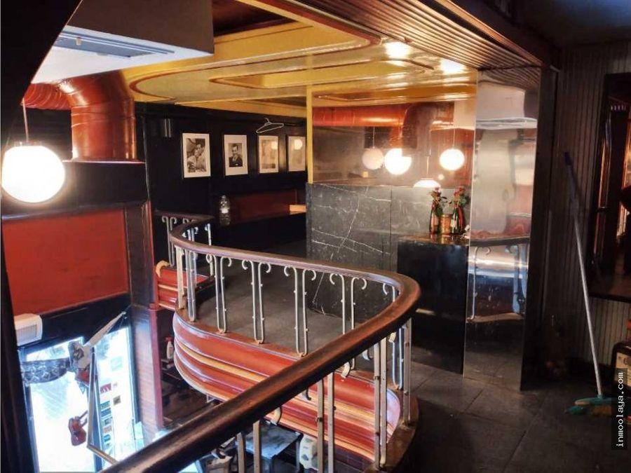 traspaso bar restaurante con terraza en sant antoni