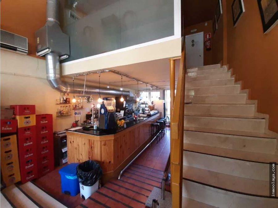 traspaso bar restaurante con salida de humos y terraza en sant adria