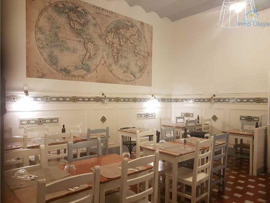 traspaso bar restaurante c3 en francesc macia