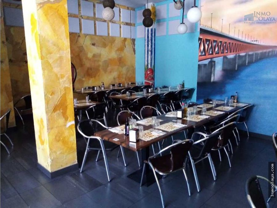 traspaso bar restaurante c3 mixto en poblenou