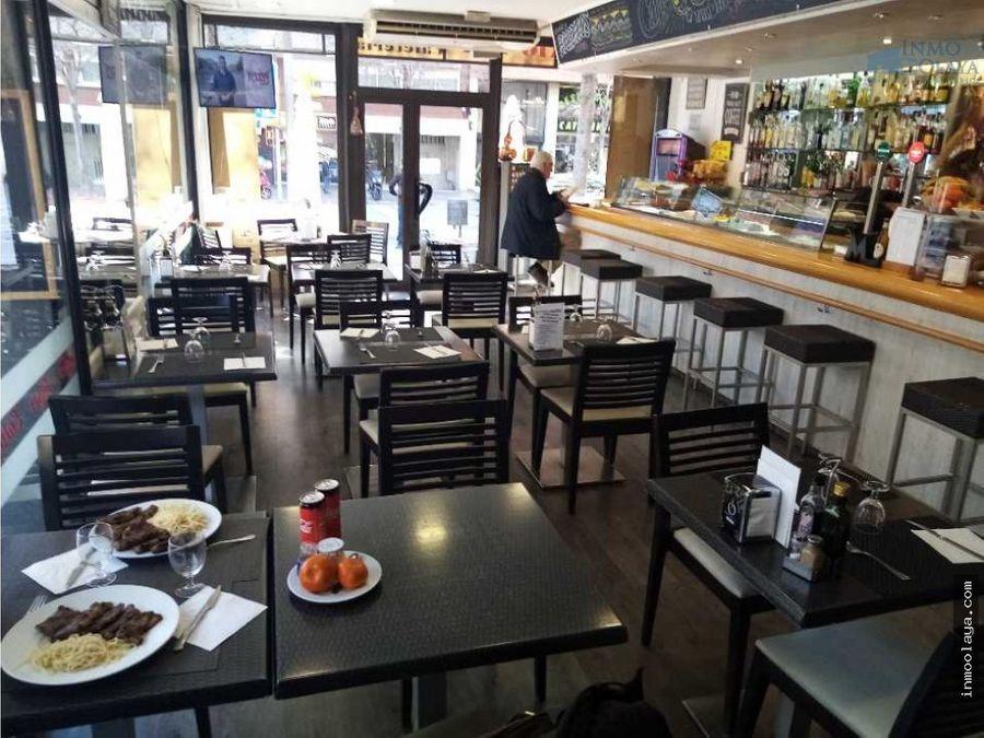 traspaso bar restaurante c3 en les corts