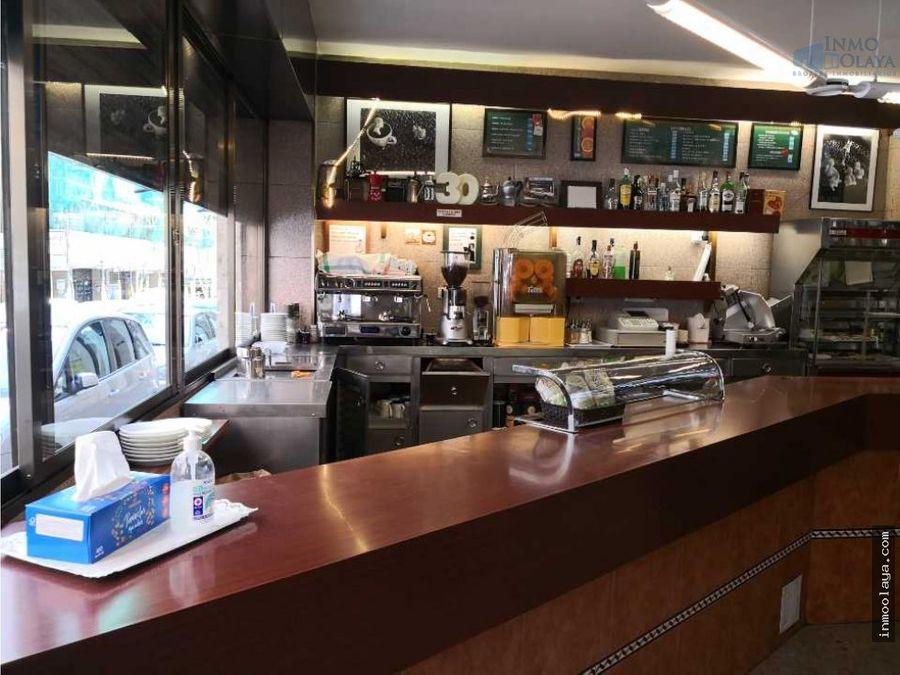 traspaso cafeteria c1 en sant gervasi
