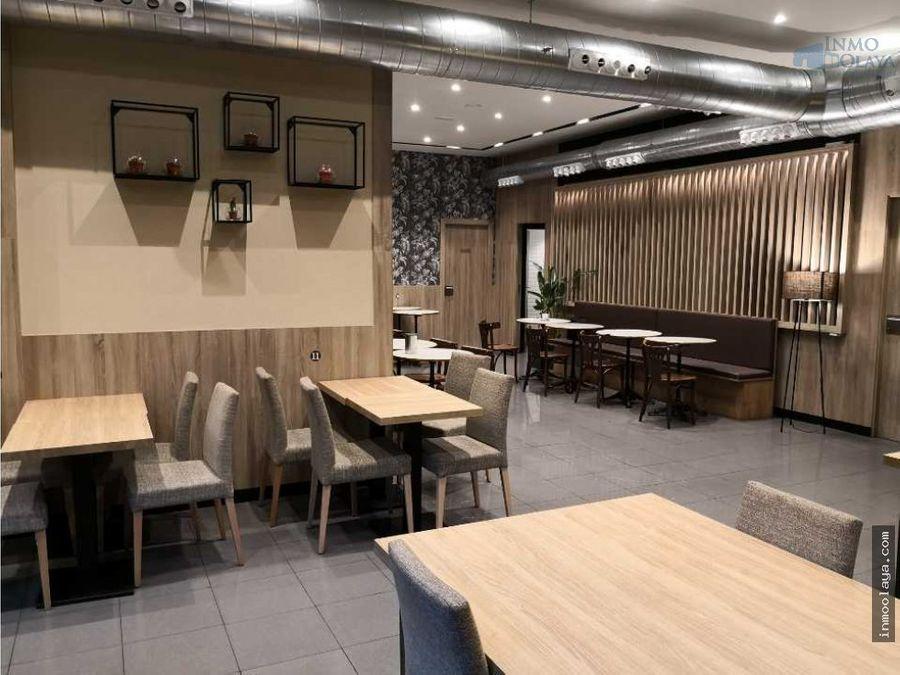 traspaso cafeteria restaurante c3 en eixample