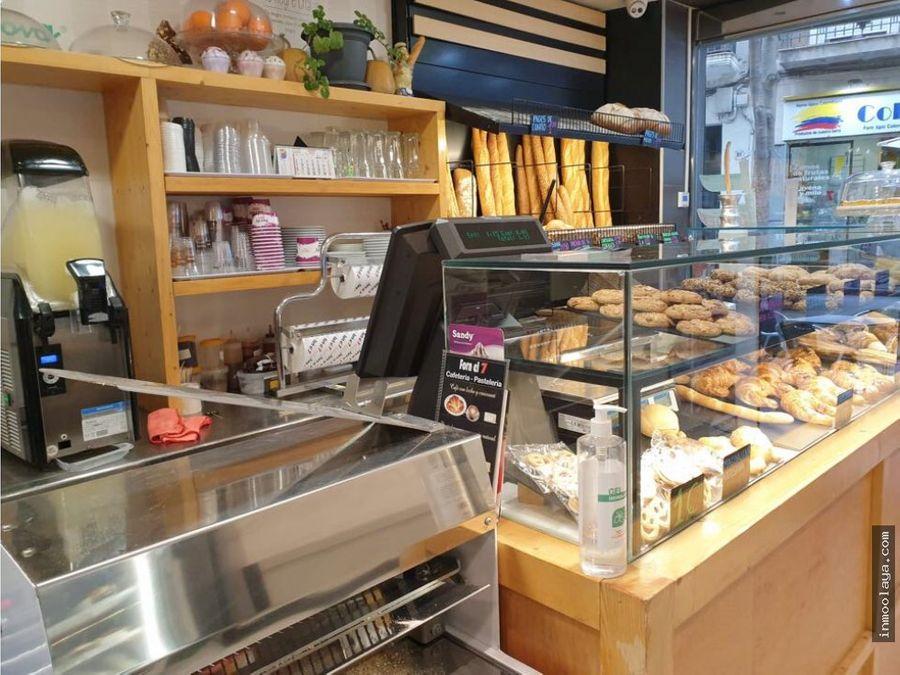 traspaso de cafeteria panaderia con degustacion