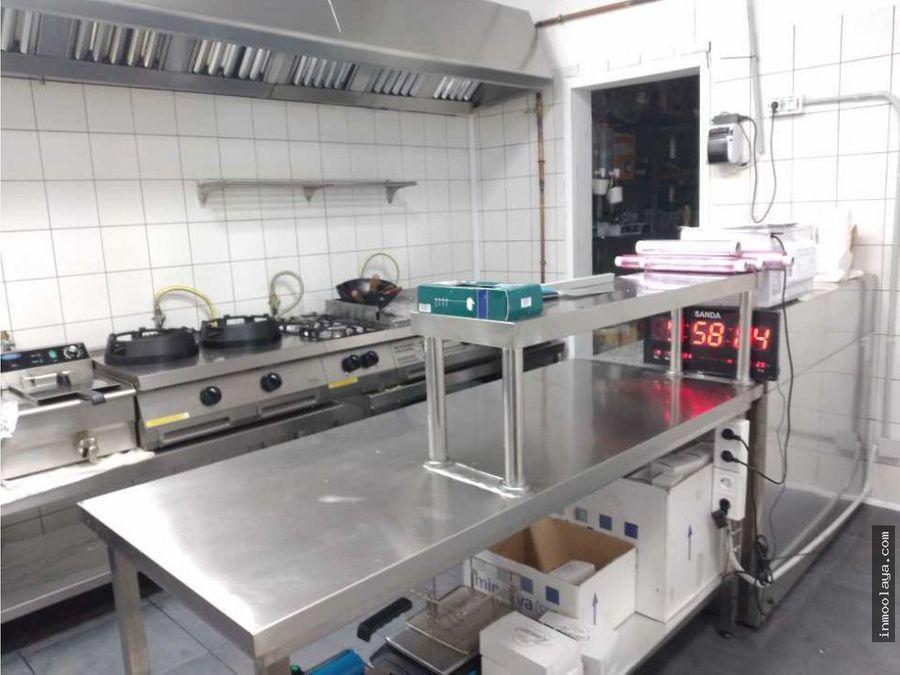 traspaso cocina industrial dark kitchen en gracia