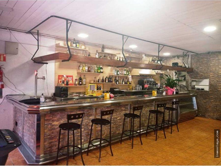 traspaso de bar restaurante con gran terraza en terrassa